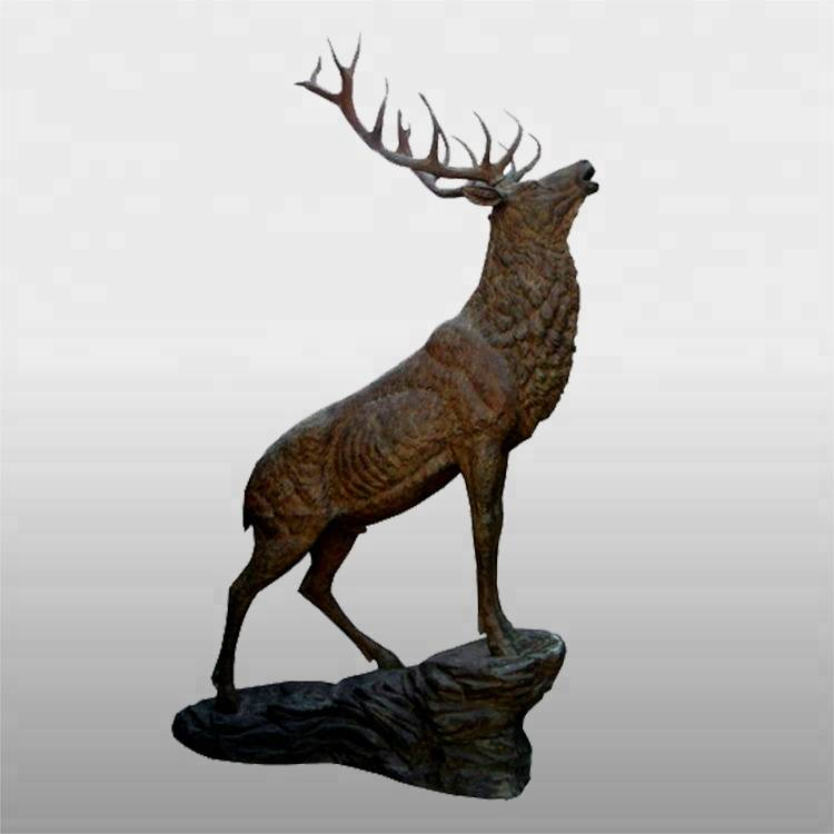 OEM Factory for Bronze Man Sculpture - large size skyfall movie bronze stag statue for sale – Atisan Works