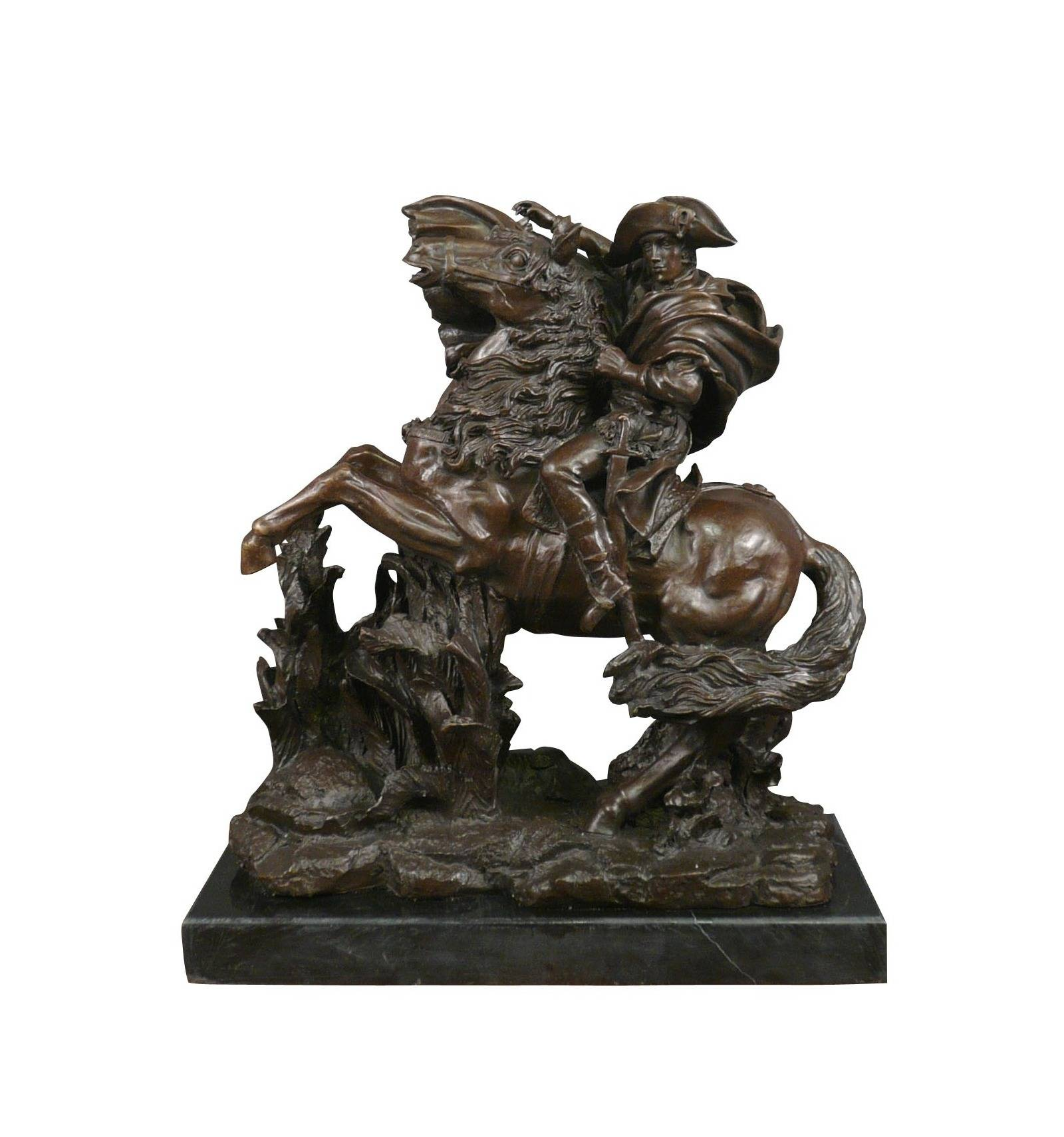 2018 New Style Small Bronze Statues - Table decoration casting metal craft bronze Nepoleon statue for sale – Atisan Works