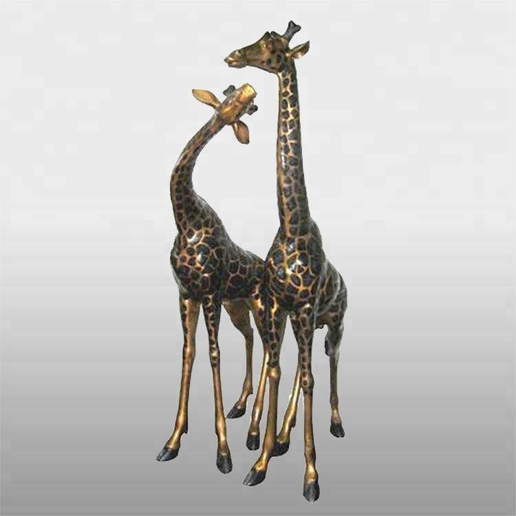 PriceList for Large Bronze Hare Sculptures - Best selling decorative life size bronze giraffe statue – Atisan Works