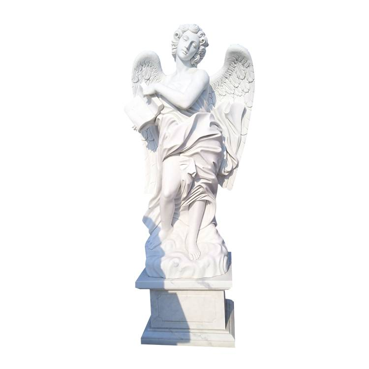 winged statue marble angel statues for cemetery