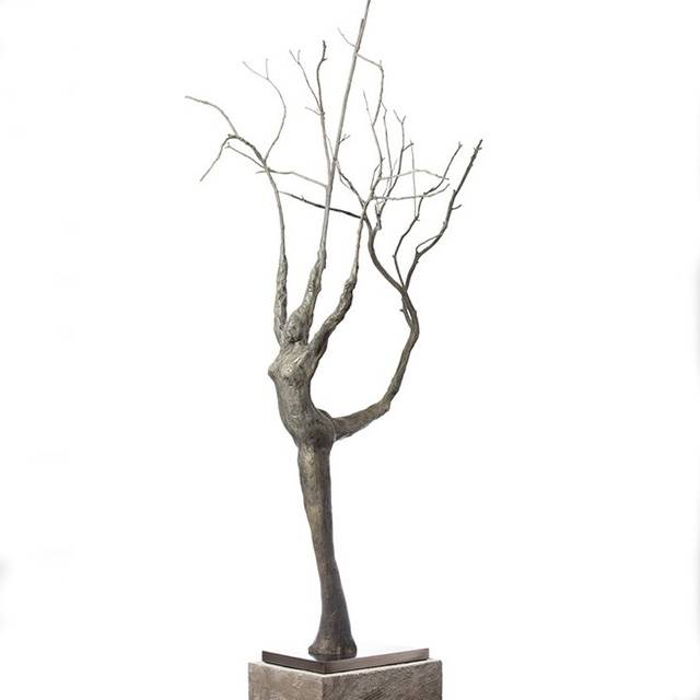 Well-designed Bronze Deer Statue - Cast large bronze garden metal tree sculpture – Atisan Works