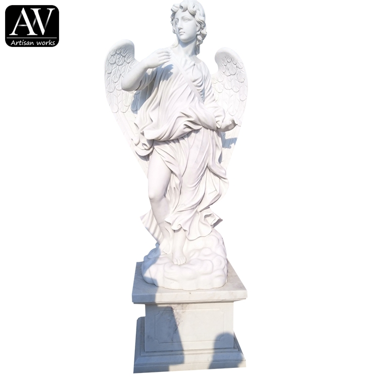 Personlized Products Boy Angel Statue - life size hand carved granite angel statues – Atisan Works