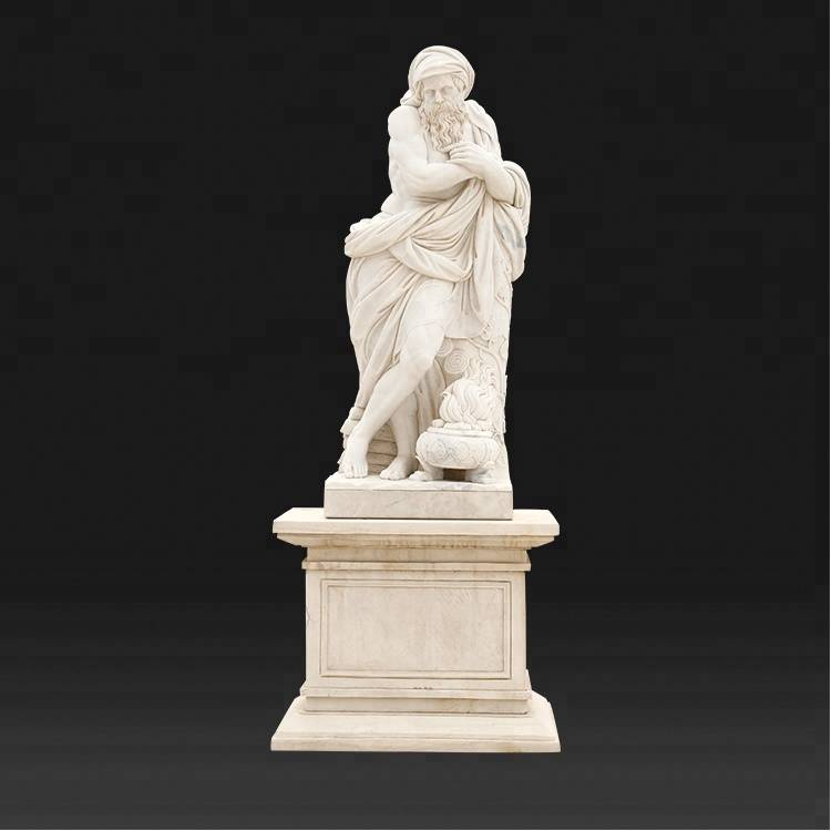 Best Price for Stone Animal Statue - Stone roman statues garden human greek statue with marble bases – Atisan Works