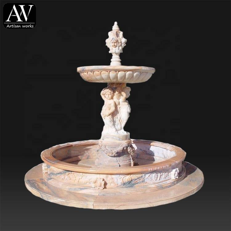 Beautiful water garden cheap decorative home fountains