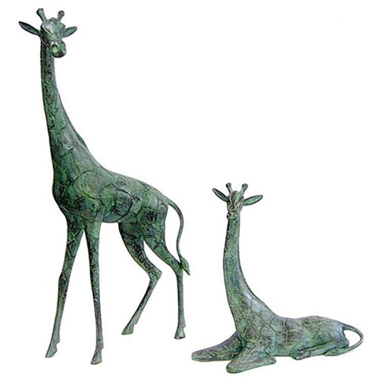 2018 New Style Small Bronze Statues - life size golden color tall bronze or brass giraffe statue for sale – Atisan Works