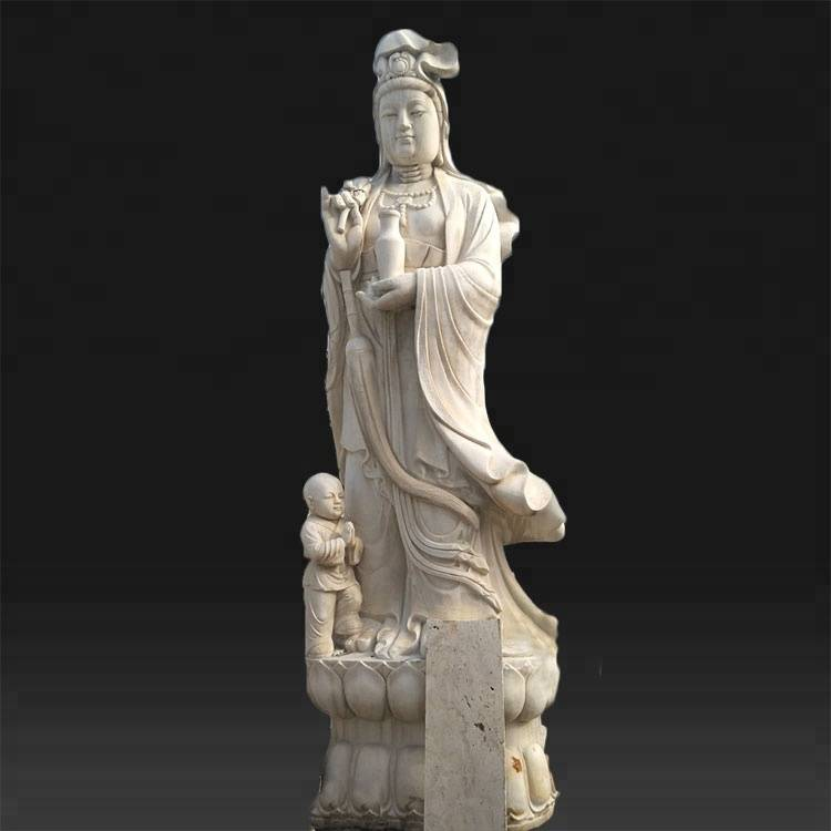 China Factory for Famous Stone Statues - Large garden large kwan yin buddha sculpture for sale – Atisan Works