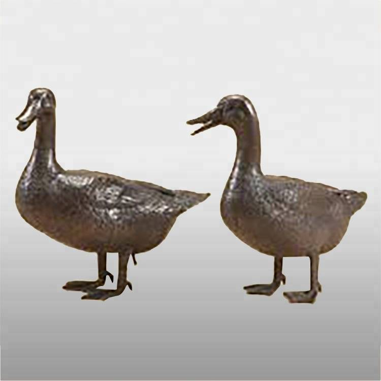 100% Original Bronze Statue Of Krishna - China hand carved life size bronze duck statue for high quality – Atisan Works