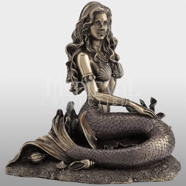 Manufacturing Companies for Bronze Rearing Horse Statue - China copper sculpture of mermaid for high quality sale – Atisan Works