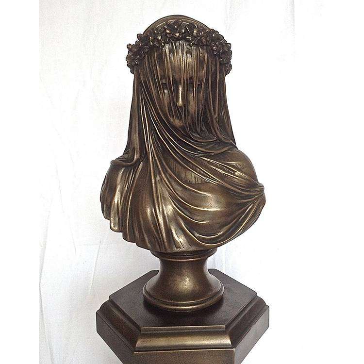 OEM/ODM Factory Golf Sculpture - Life size  indoor brass bronze famous head figure bust for decoration – Atisan Works