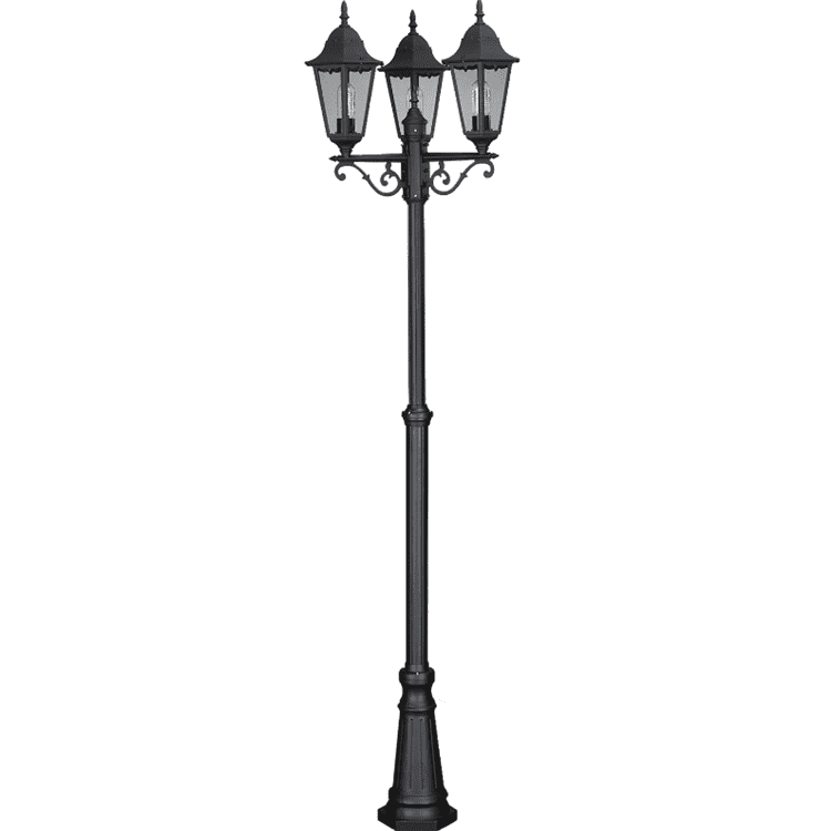 custom sculpture antique cast iron lamp post park lamp posts Iron Material and Garden