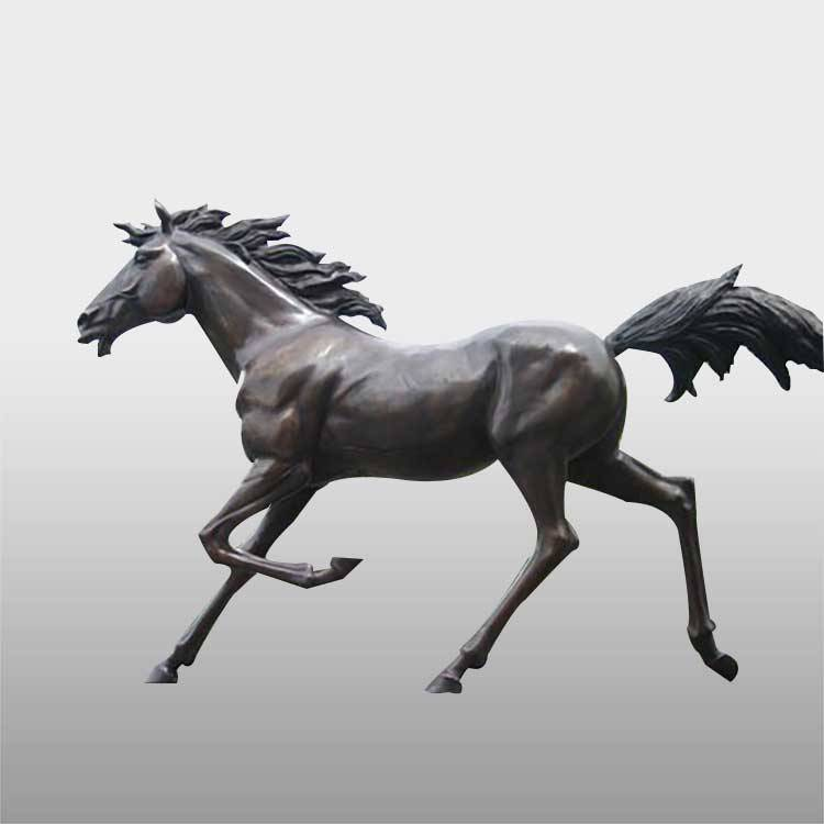 life size animal sculpture bronze garden horse statue for sale
