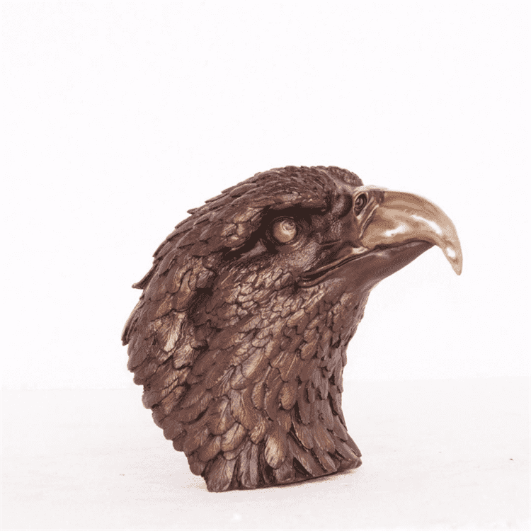 Professional China Tall Bronze Sculpture - Hot sale outdoor life size  art wholesale bronze eagle statues for sale – Atisan Works