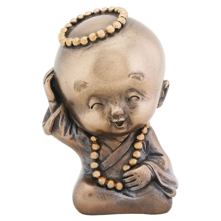 OEM Supply Etruscan Bronze Sculpture - Religious sculpture life size bronze baby and mini buddha statue on sale – Atisan Works