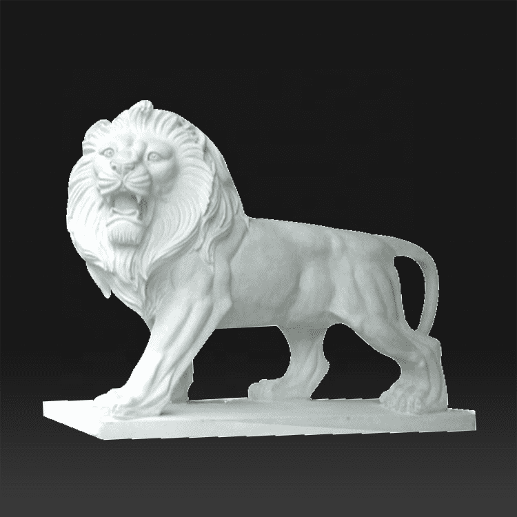 8 Year Exporter Figure Sculptures - european garden decoration Ancient european life size lion statue picture – Atisan Works
