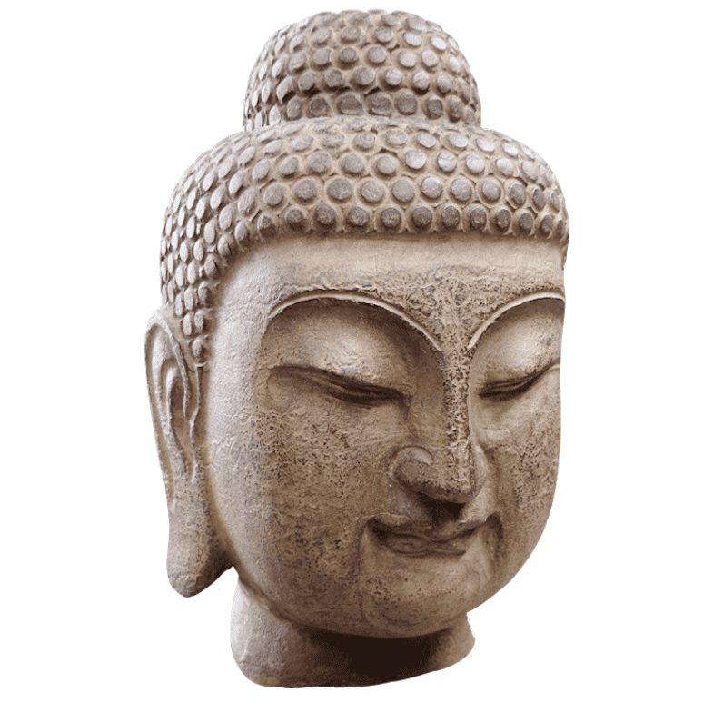 2018 Good Quality Famous Stone Face Statue - Natural stone marble buddha head statue for sale – Atisan Works