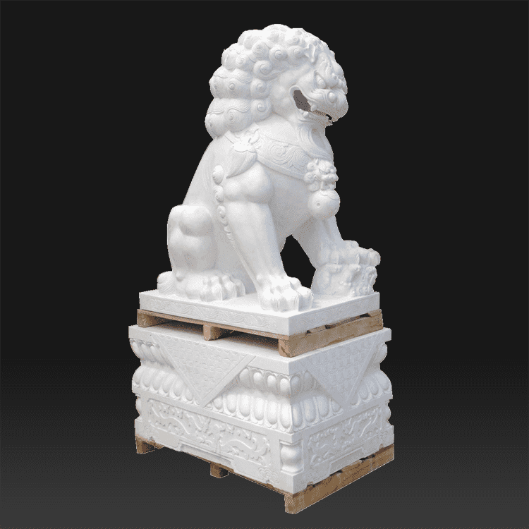 Hot sale Antique chinese stone lions For sale