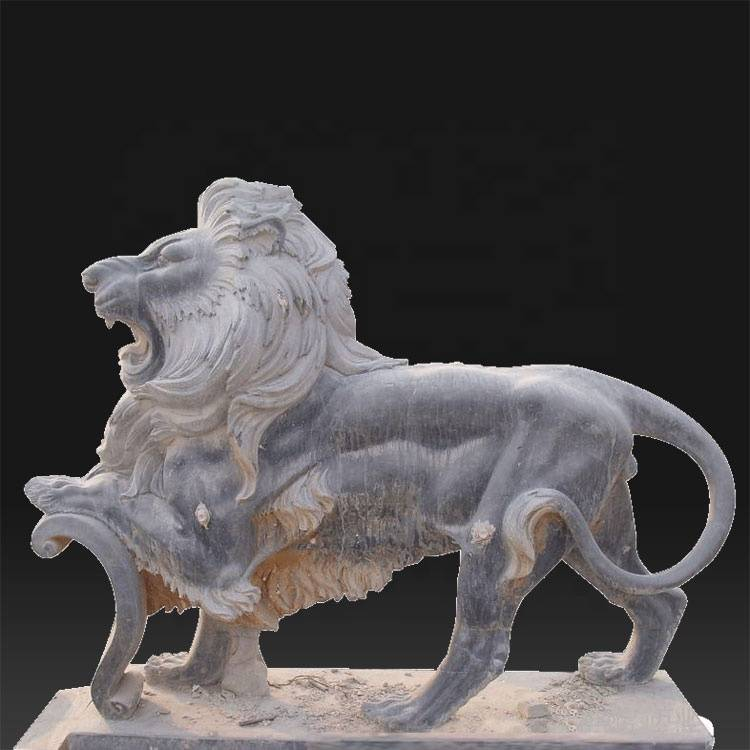 Reasonable price for Famous Male Marble Statues - Factory custom life size stone lion famous roman statues – Atisan Works