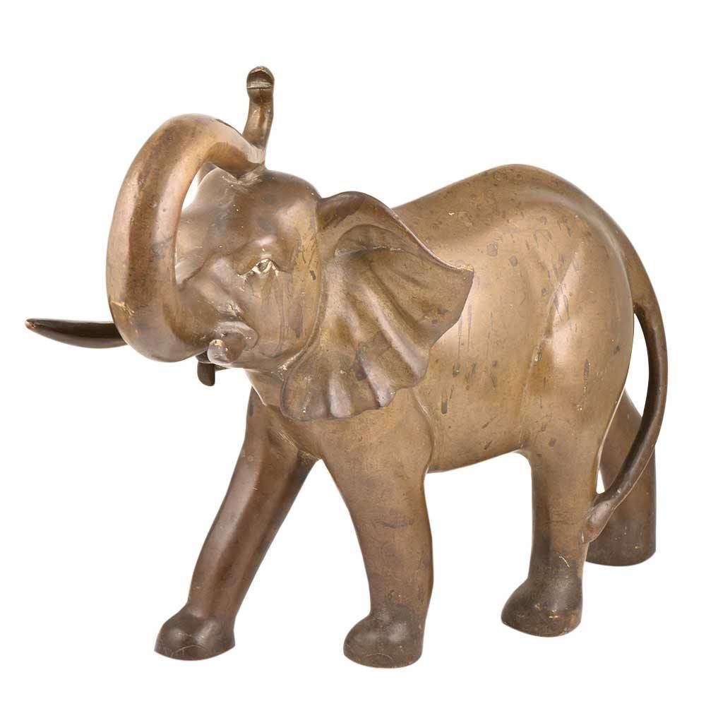 Wholesale Price High Quality Sculpture Bronze - Large Size Cooper Animal Sculpture Outdoor Decoration Bronze Elephant Statues For Sale – Atisan Works
