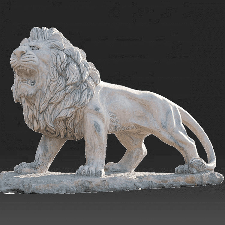 PriceList for Marble Sculpture Veil - Wholesale stone life size lion marble carving sculpture – Atisan Works