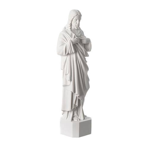 Religious Sculpture Jesus Christ Statue In White Marble