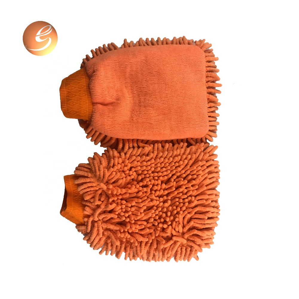 Quality warranty Highly Efficient microfiber car chenille cleaning glove