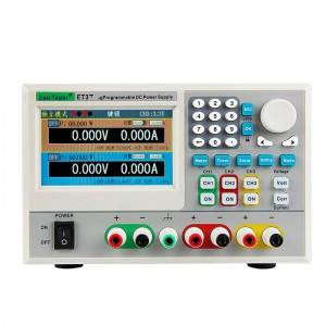100% Original Adjustable Electronic Load - ET37 Series Programmable DC Power Supply – Zhongchuang