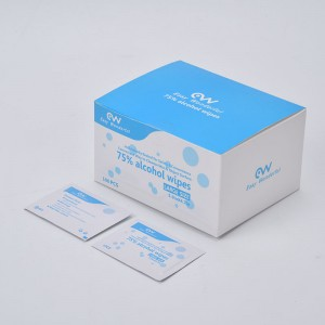 China Cheap price 75 Alcohol Wipes Antibacterial Wet Wipes - 75% Alcohol wet wipe – Lantian Bishui