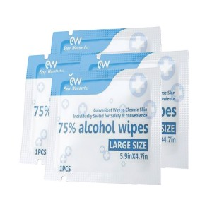 Chinese Professional Custom Alcohol Wipes - Super Lowest Price China 75% Alcohol Disinfecting Wipes 50PCS Pack with RoHS & FDA for Daily Cleaning – Lantian Bishui