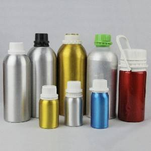 30mL-1.2L different shapes clear colorful luxury decorative dropper empty aluminum essential oil bottle