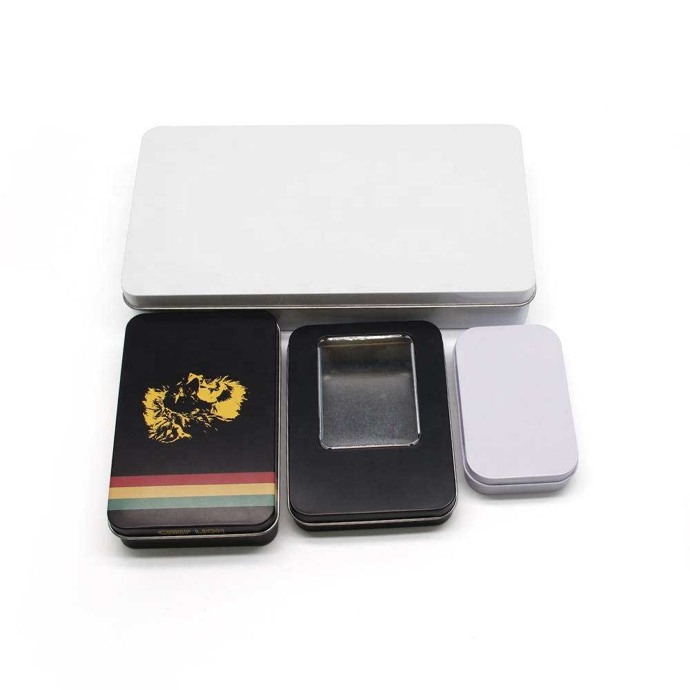 Eco friendly 7 pre roll cigarette joint  tin box packaging custom