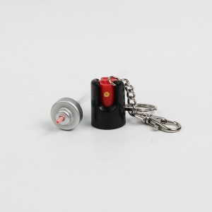 20ml Portable Mini pepper spray actuator with keychain