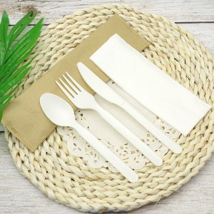 CPLA Plastic-free Sustainable Renewable Cutlery...