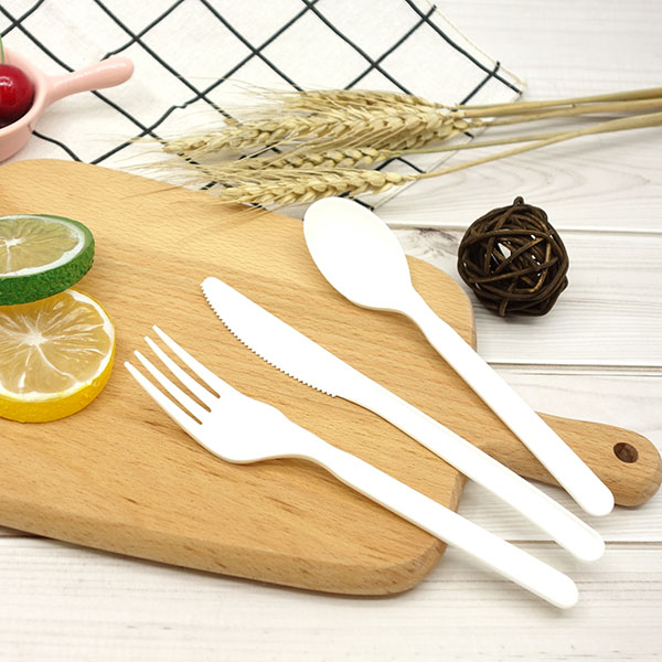 CPLA Plant-based Compostable Plastic-free Renewable 6 inch Cutlery Featured Image