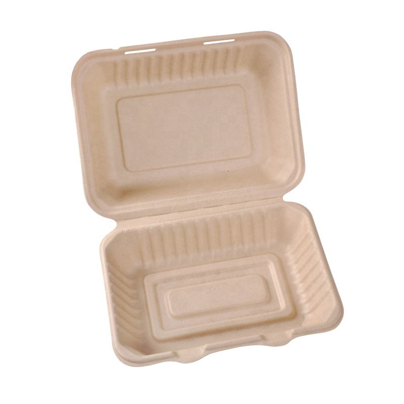 PriceList for Wheat Straw Lunch Box - Biodegradable Compostable Safety Eco-Friendly Disposable Food Containers Box For Fast Food – Naike