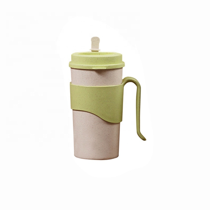 Special Design for Ripple Wall Cups - Pure color anti ironing bamboo fiber coffee cup fashionable with cup set water bottle sealing multi functional cup – Naike