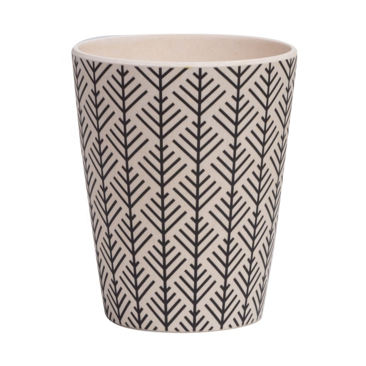China Supplier Insulated Magnetic Cups Advertising - Bamboo fiber creative simple practical coffee cup fresh personality single-layer safe biodegradable water cup – Naike