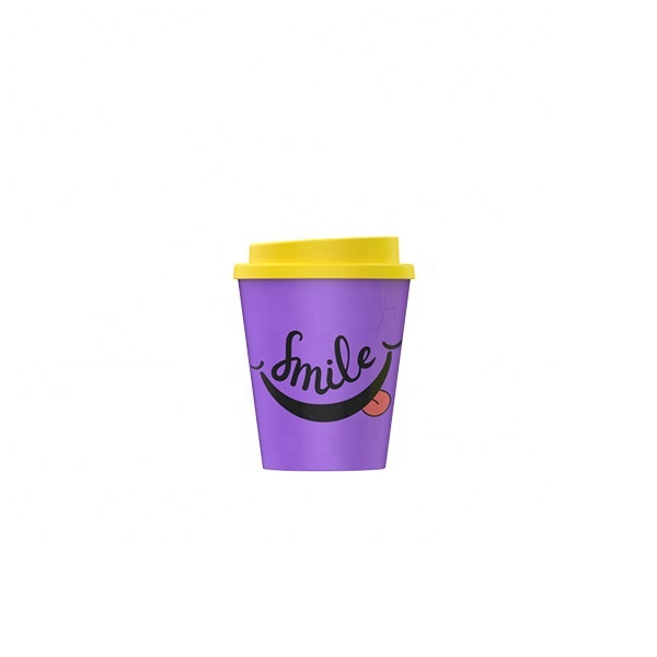 OEM manufacturer Customized Sprayer Bottles - Cartoon thickened heat insulation anti ironing practical mug double seal with cover biodegradable PLA coffee cup – Naike