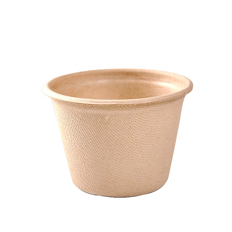 8 Year Exporter Ripple Cup - 140ml Eco Friendly Healty Unbleached Wheat Straw Compostable Disposable Coffee Paper Cup – Naike