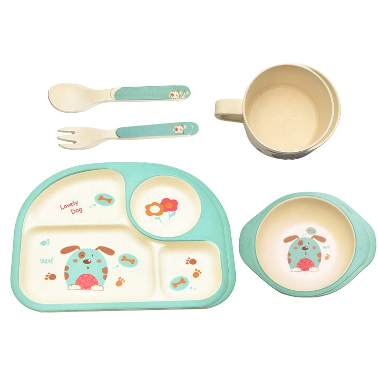 Wholesale Price China Wheat Straw Plate Kids - Delicate practical anti ironing easy to clean tableware set high quality healthy safe and degradable dinner bowl – Naike