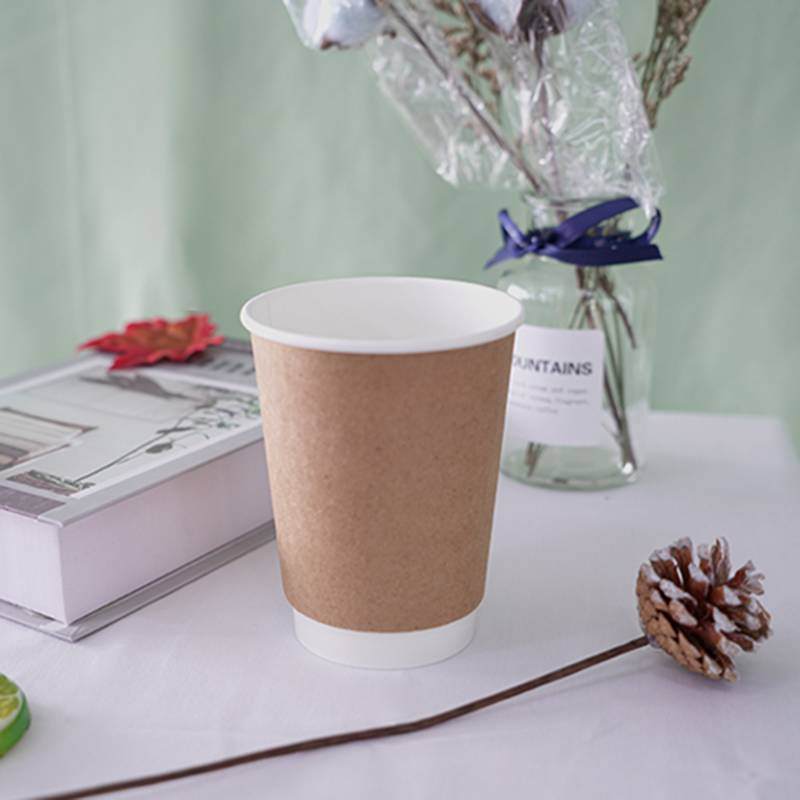 Newly Arrival  White Paper Coffee Cups - Paper coffee cup – Packada