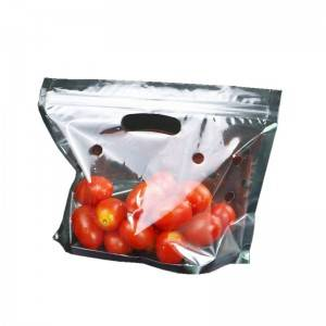 Factory wholesale Recycling Plastic Bags - Fruit plastic bag – Packada