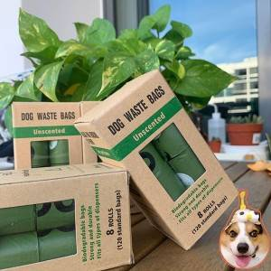 New Fashion Design for Coffee Bags With Tintie - dog poo biodegradable bag – Packada