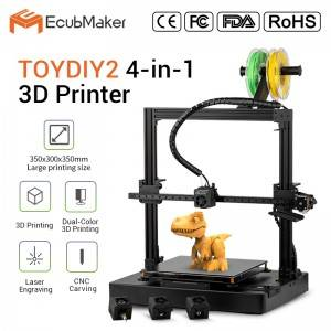 Ecubmaker TOYDIY2 4in1 3D Printer