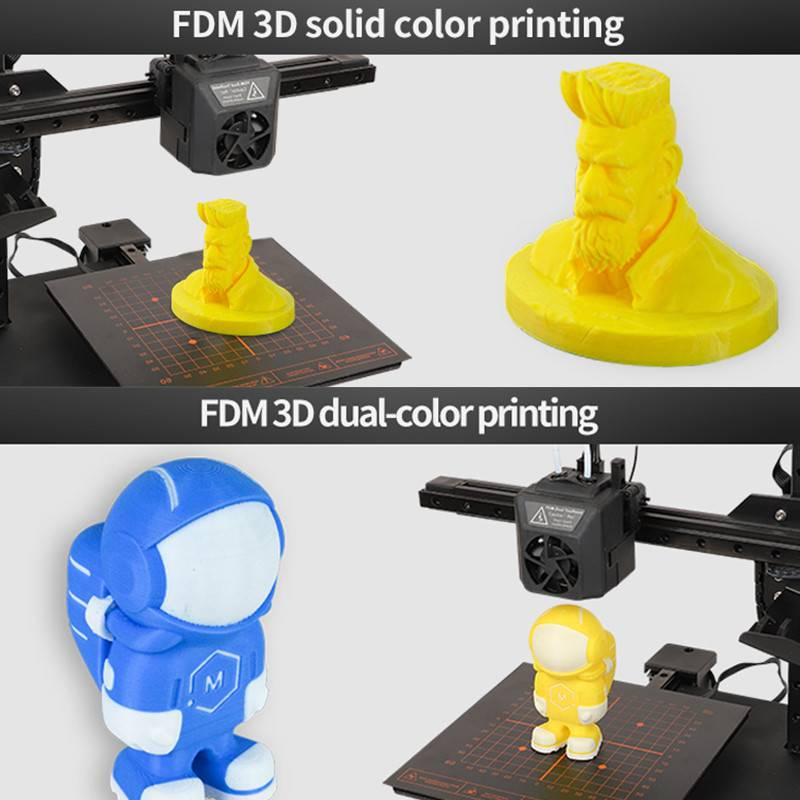 Hot Sale for 3d Printer Price - EcubMaker ToyDIY 4in1 specification – Ecubmaker