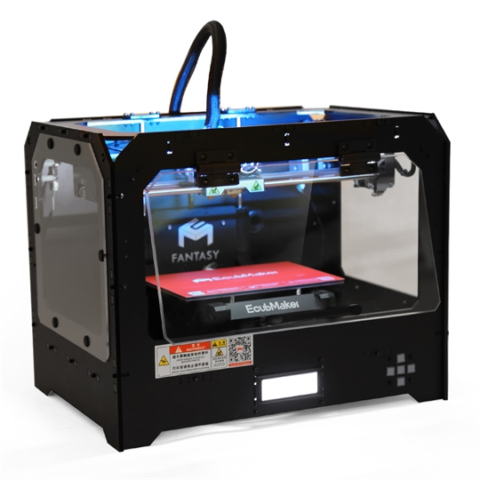 Fantasy II enclosed 3d printer with two extruders Featured Image
