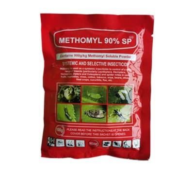 Methomyl Insecticide 40%SP 90%SP on hot sale