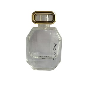 Custom glass perfume bottle whole set supplier in China