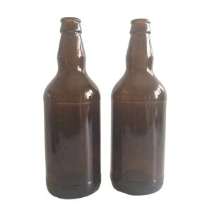 500ml amber glass beer bottle with swing flip top