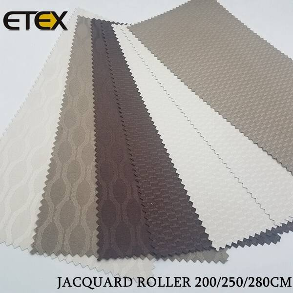 Jacquard Roller Blind Fabrics detail pictures