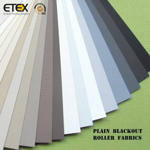 Factory wholesale Blockout Roller Blinds Fabric - Roller Blind Fabrics – ETEX
